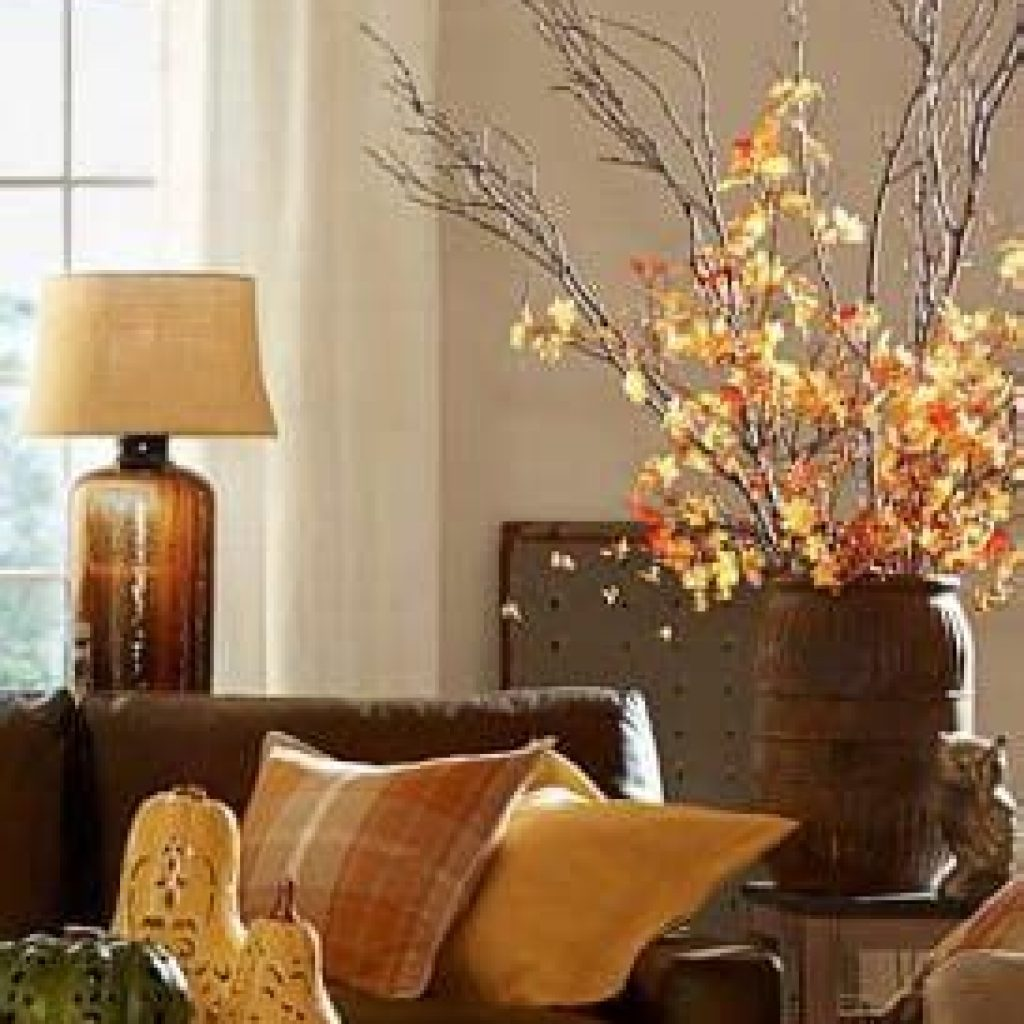 Creative Fall Decorating For Your Home Interior 40