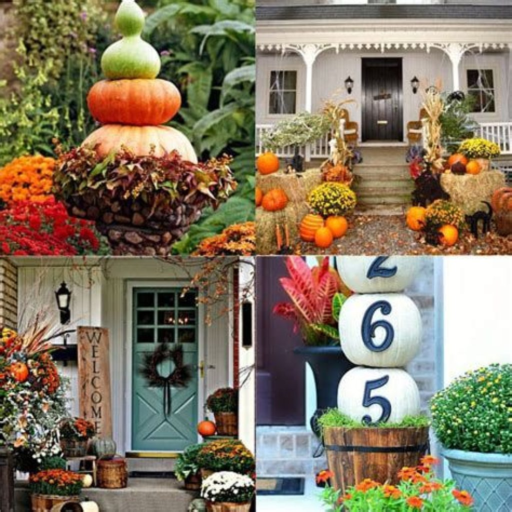Easy And Creative Fall Decoration For Your Backyard 32