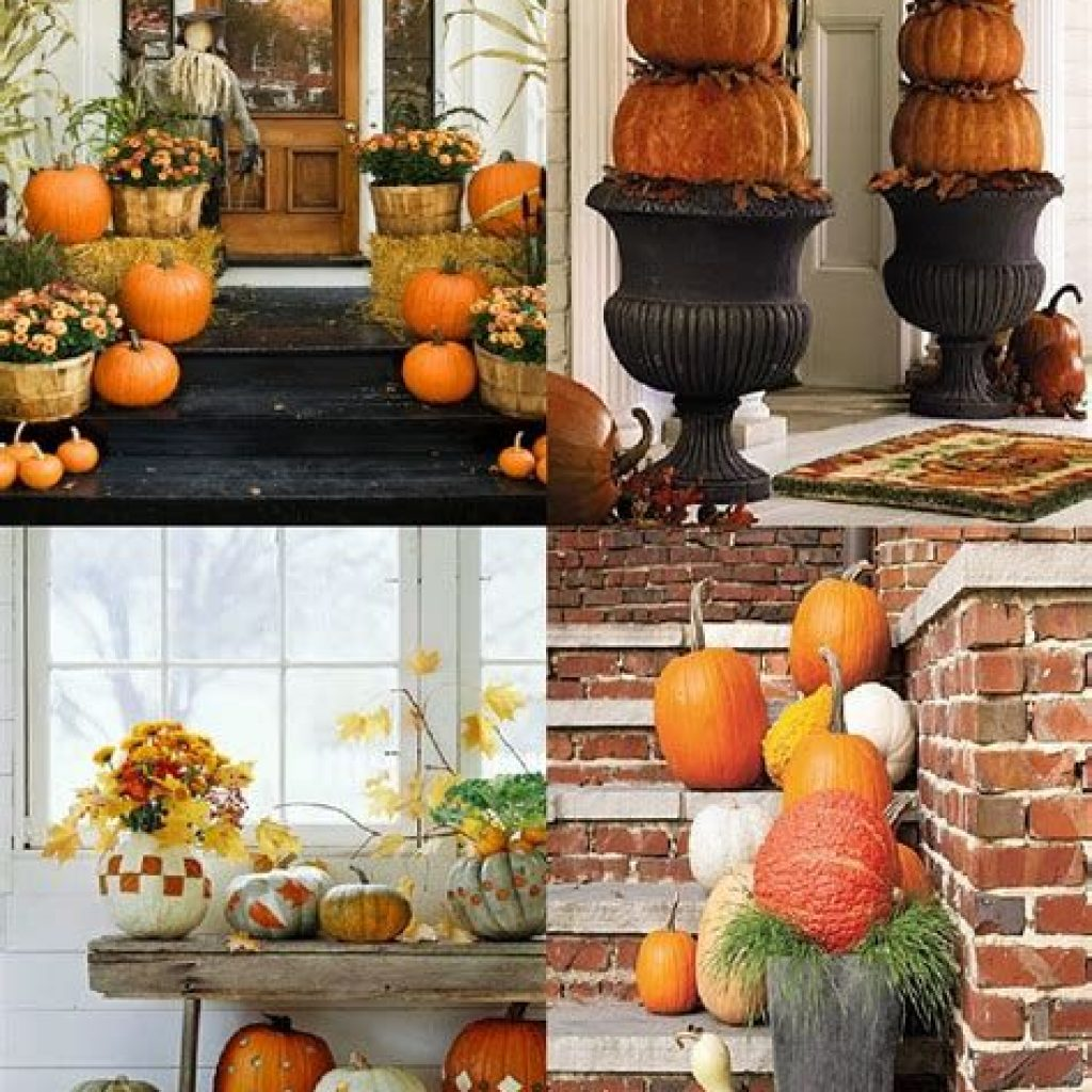 Easy And Creative Fall Decoration For Your Backyard 40