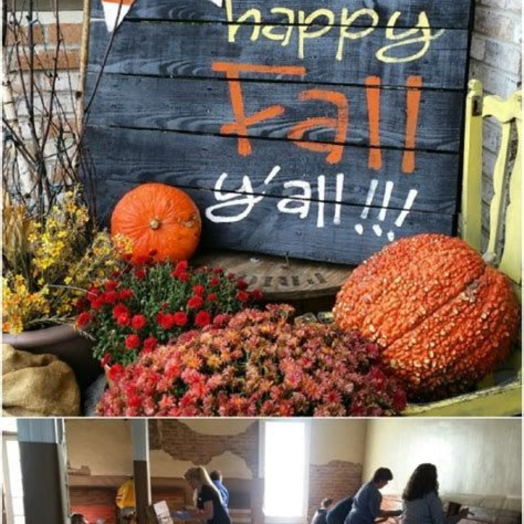 Easy Outdoor Fall Decoration To Inspire Yourself 02