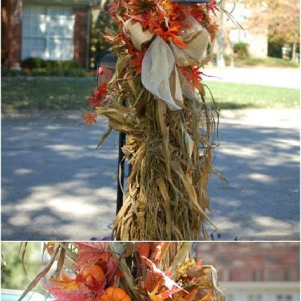 Easy Outdoor Fall Decoration To Inspire Yourself 08