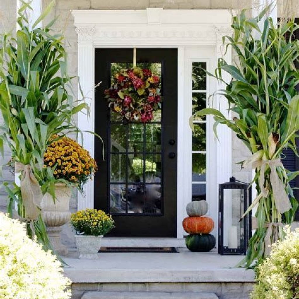 Easy Outdoor Fall Decoration To Inspire Yourself 15