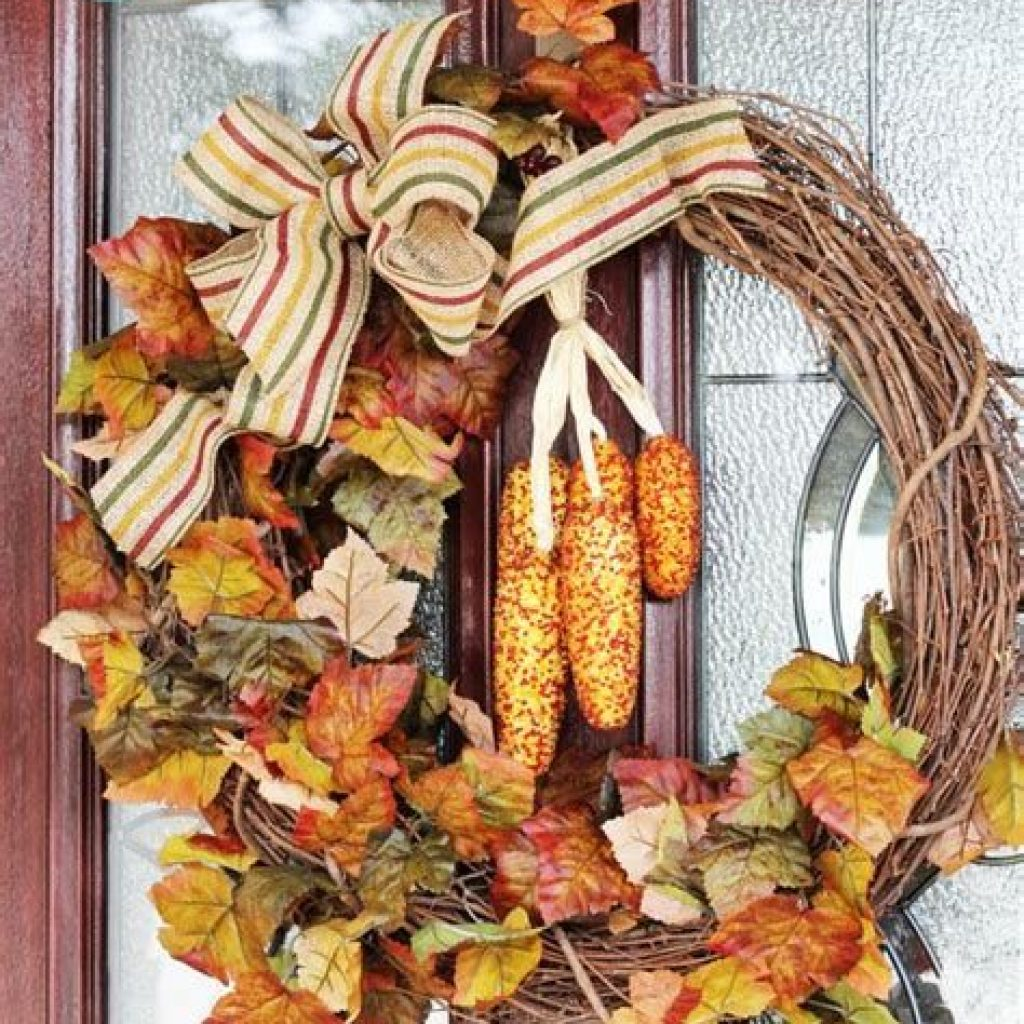 Easy Outdoor Fall Decoration To Inspire Yourself 27