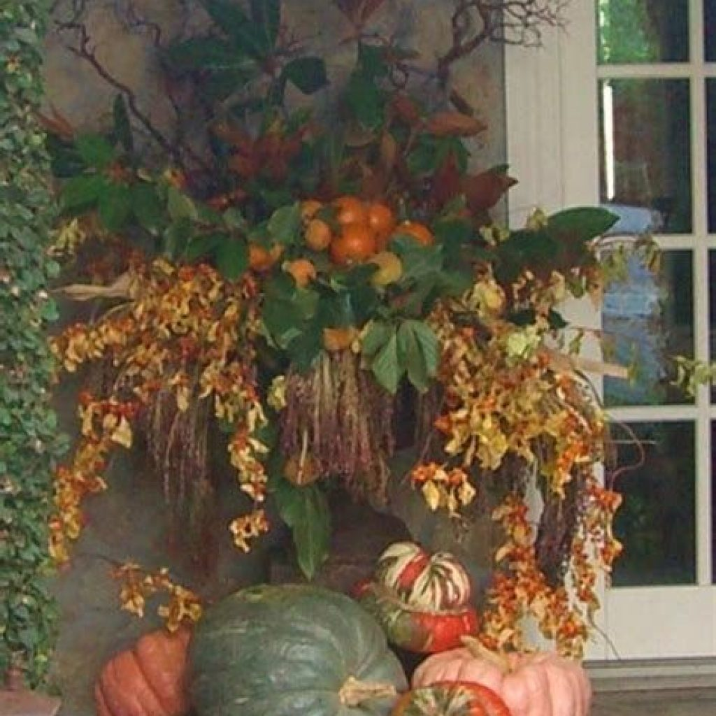 Easy Outdoor Fall Decoration To Inspire Yourself 40