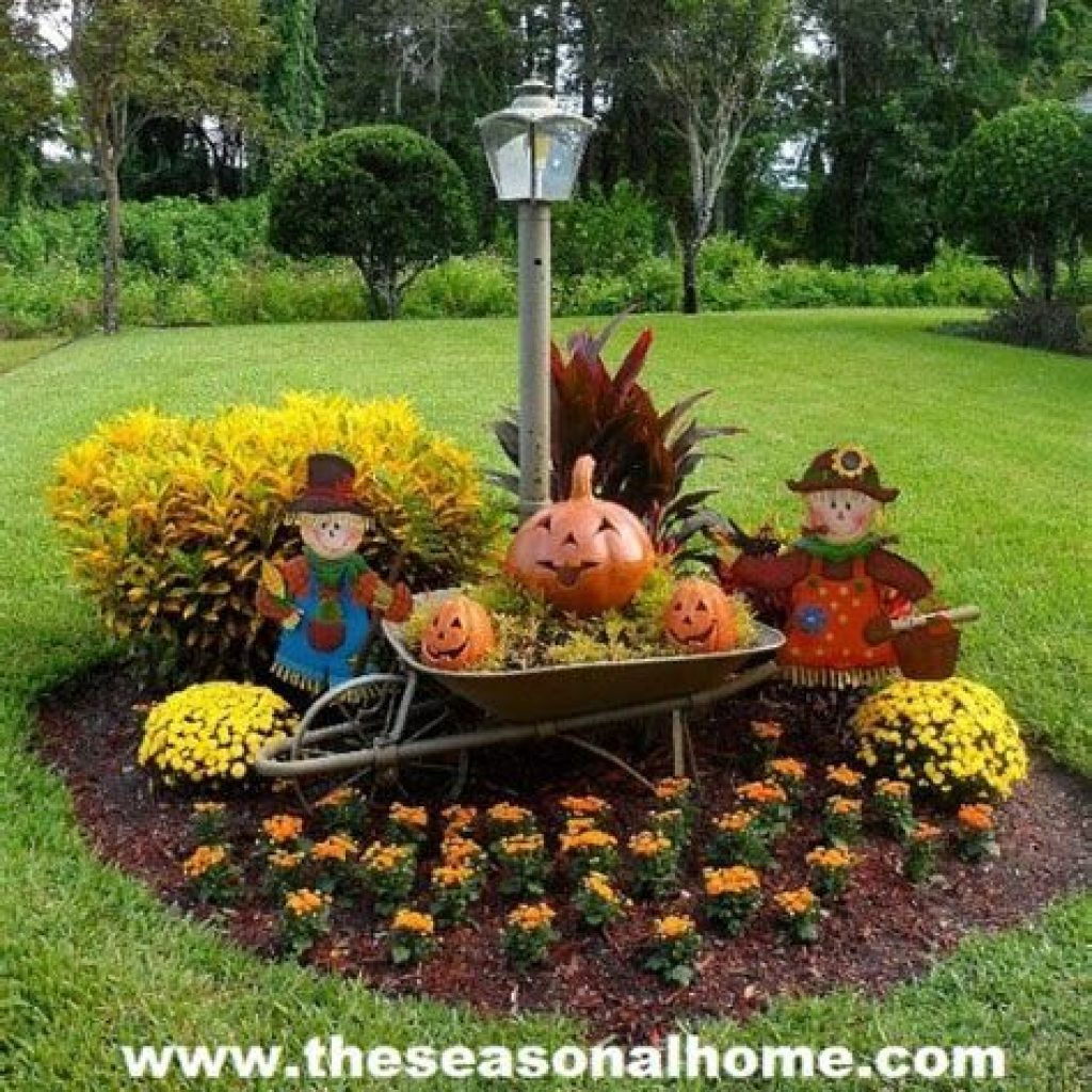 Easy Outdoor Fall Decoration To Inspire Yourself 42