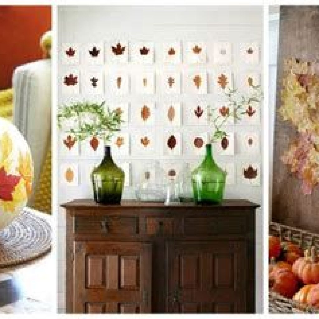 Fancy Diy Fall Craft Ideas To Bring Autumn To Your Home 01
