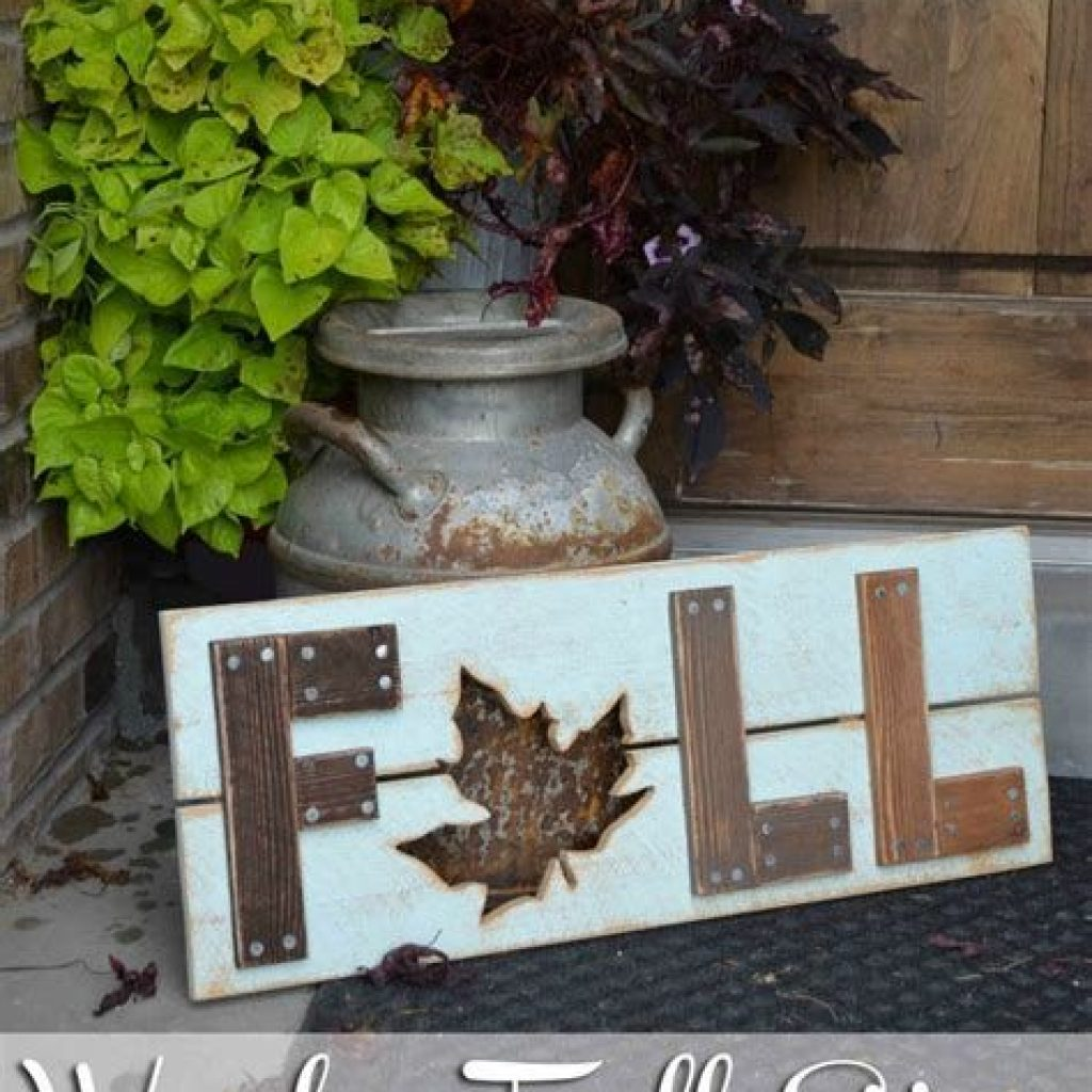 Fancy Diy Fall Craft Ideas To Bring Autumn To Your Home 05