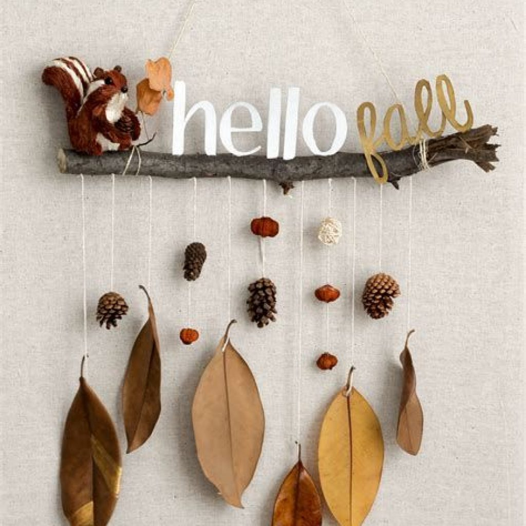 Fancy Diy Fall Craft Ideas To Bring Autumn To Your Home 14