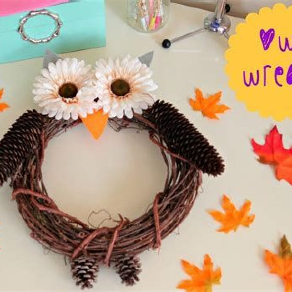 Fancy Diy Fall Craft Ideas To Bring Autumn To Your Home 24