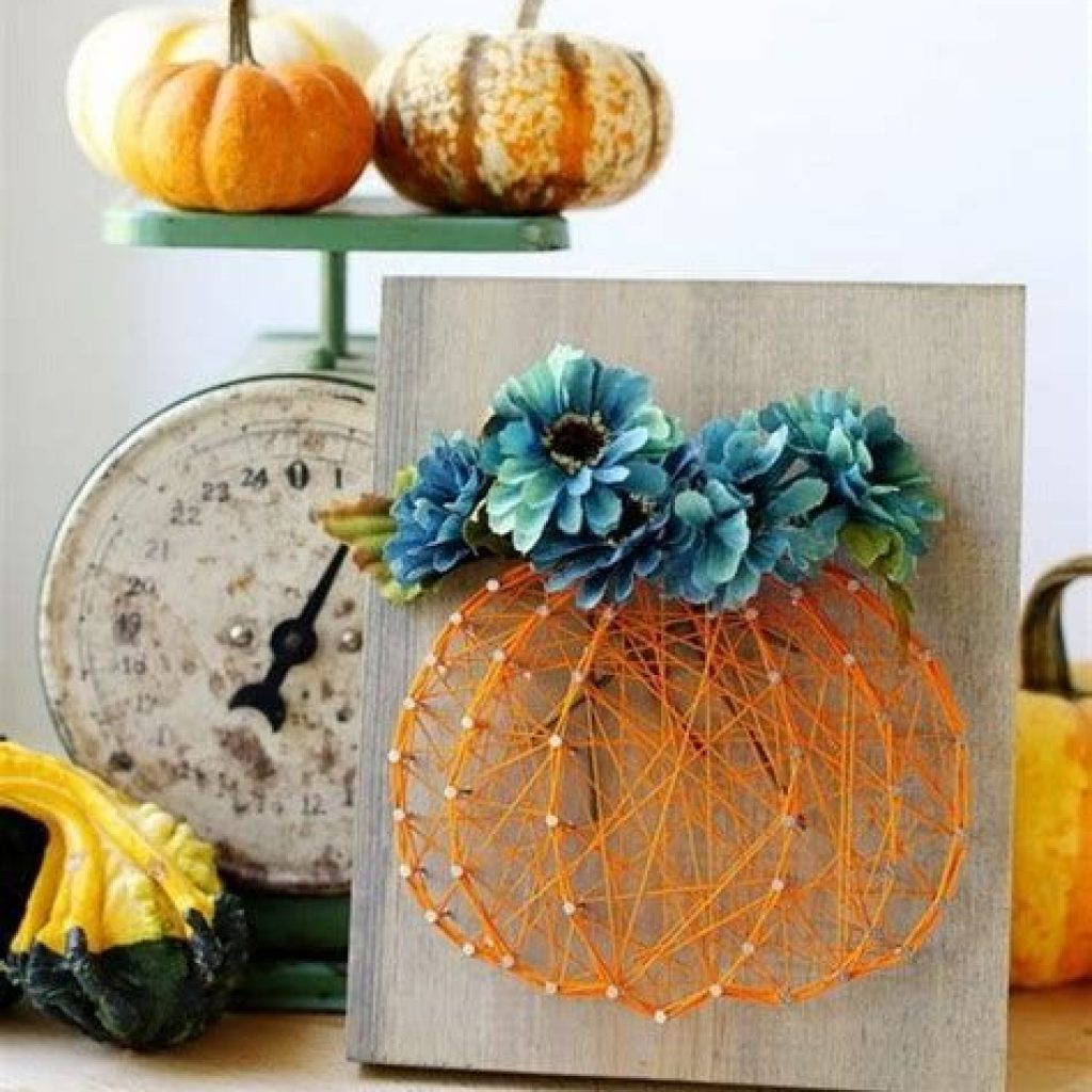 Fancy Diy Fall Craft Ideas To Bring Autumn To Your Home 28
