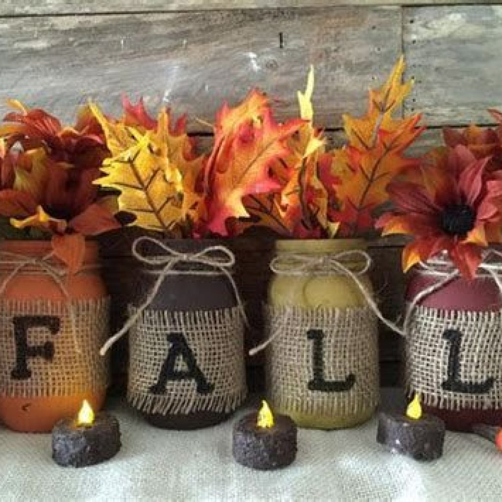 Fancy Diy Fall Craft Ideas To Bring Autumn To Your Home 39