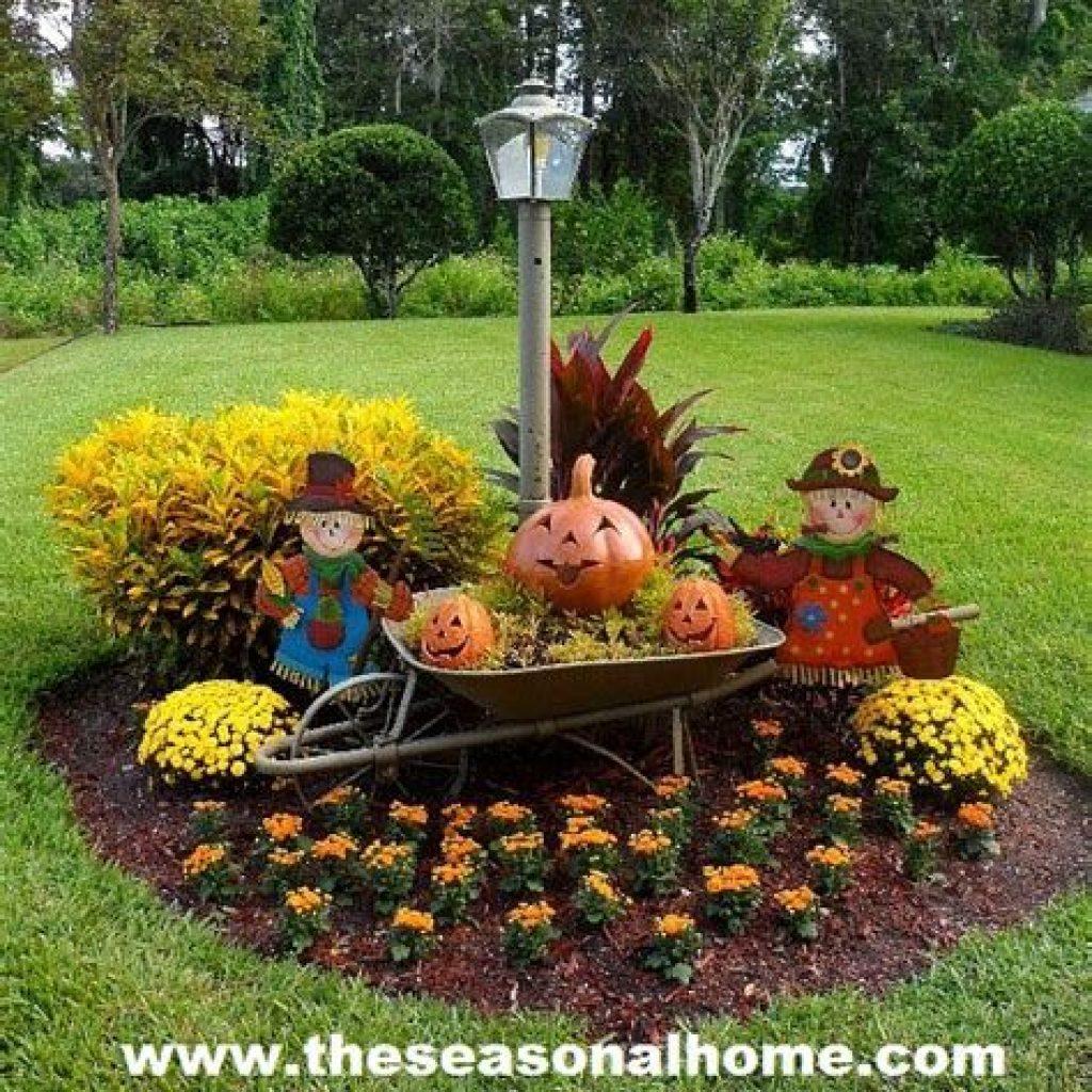 Fantastic Backyard Decoration For Fall This Year 17