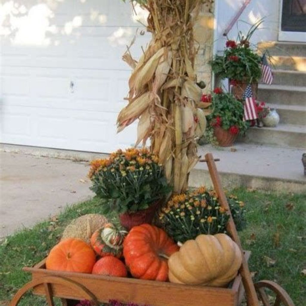 Fantastic Backyard Decoration For Fall This Year 19