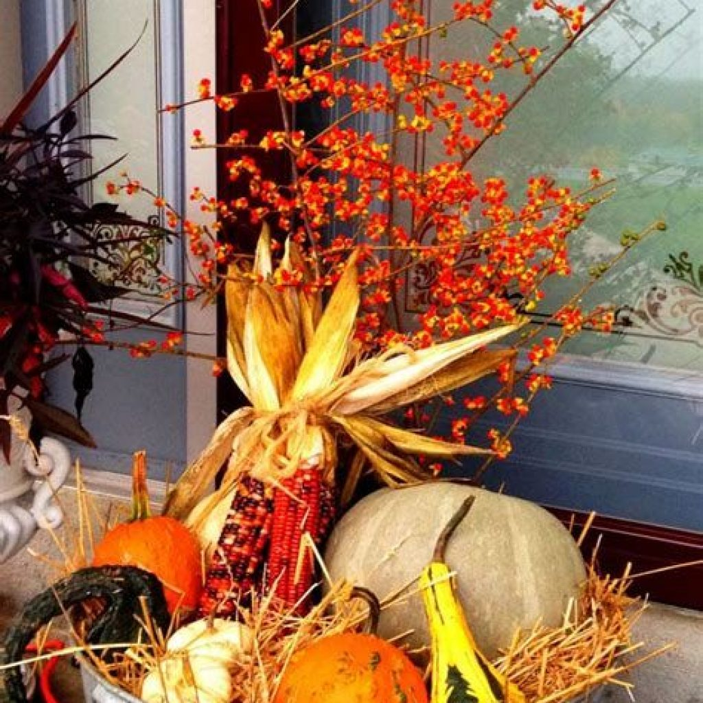 Fantastic Backyard Decoration For Fall This Year 27