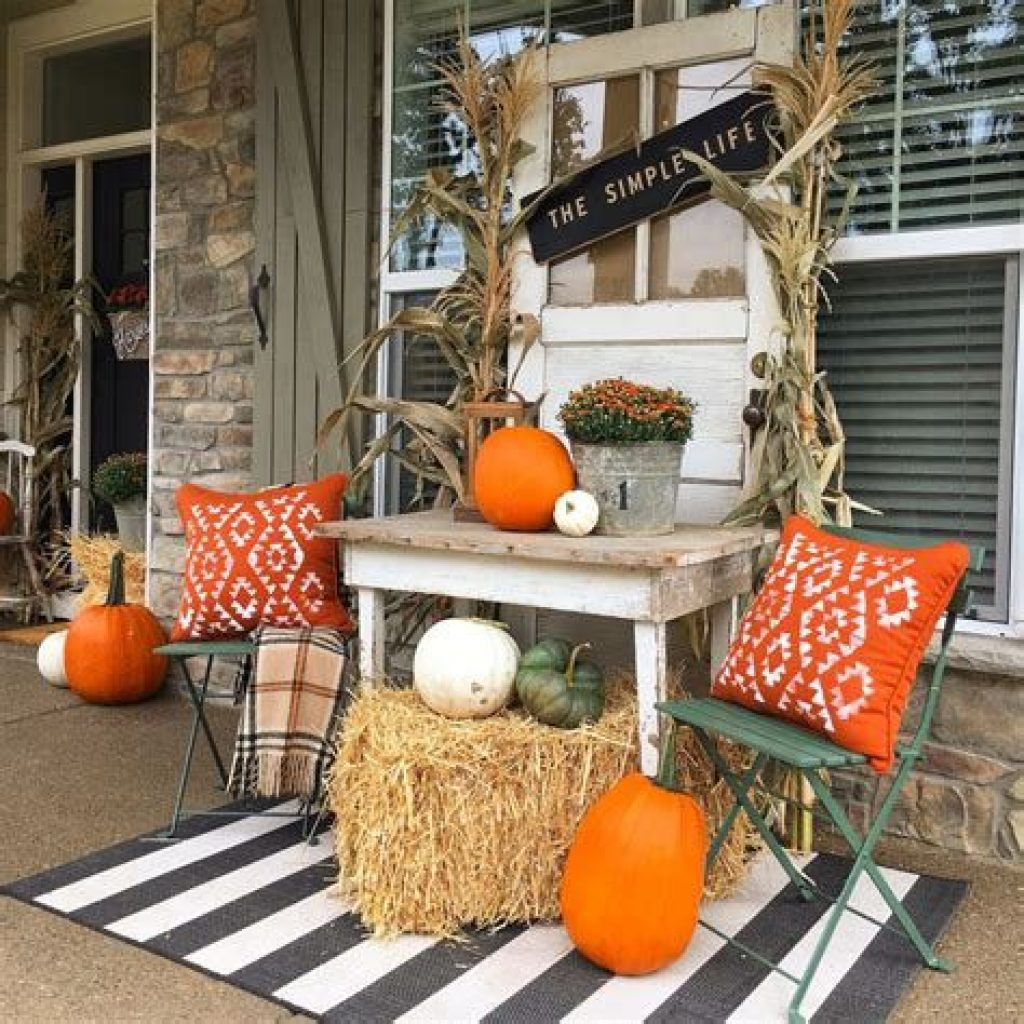 Fantastic Backyard Decoration For Fall This Year 33