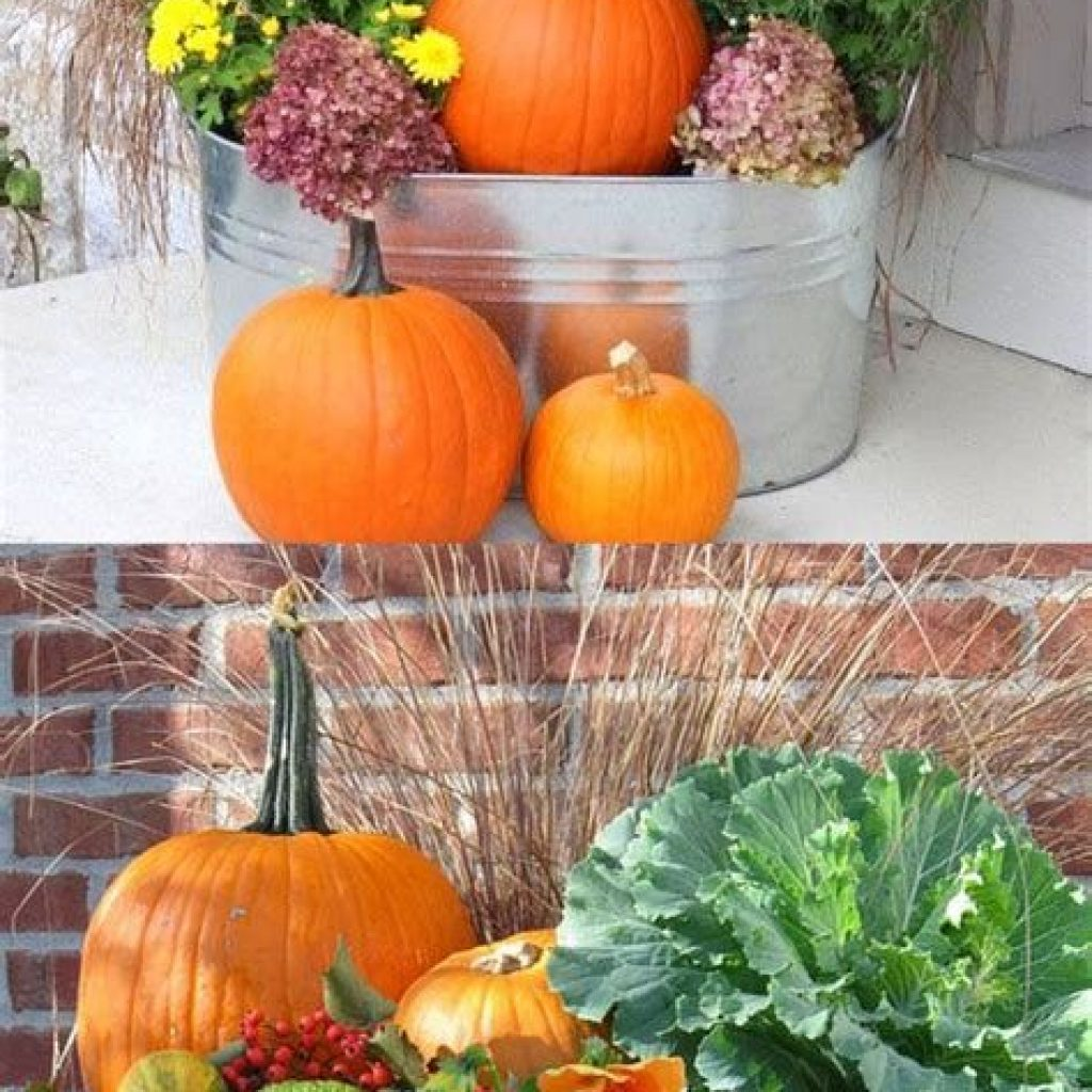 Fantastic Backyard Decoration For Fall This Year 34