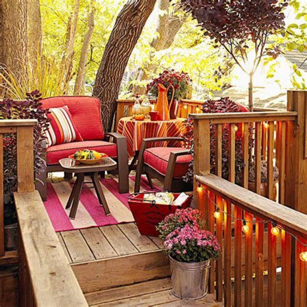 Fantastic Backyard Decoration For Fall This Year 37