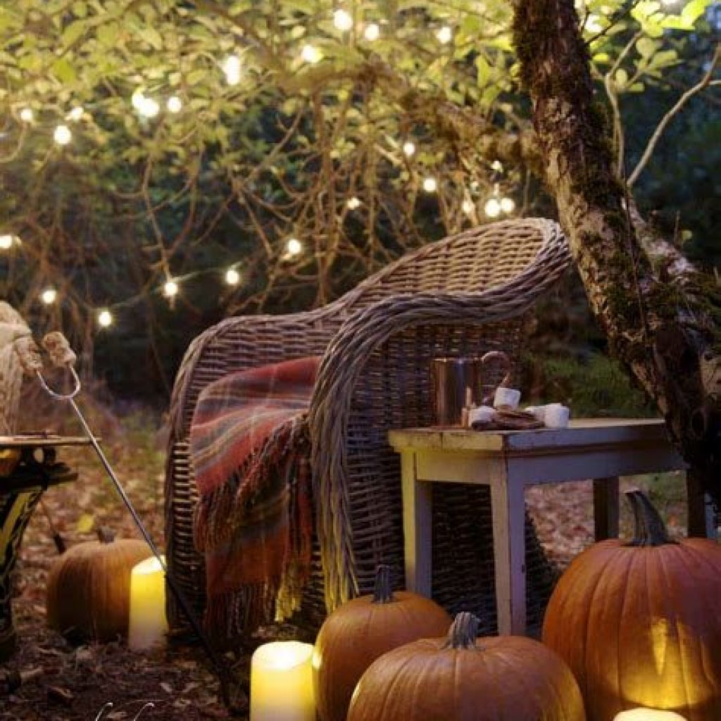 Fantastic Backyard Decoration For Fall This Year 39
