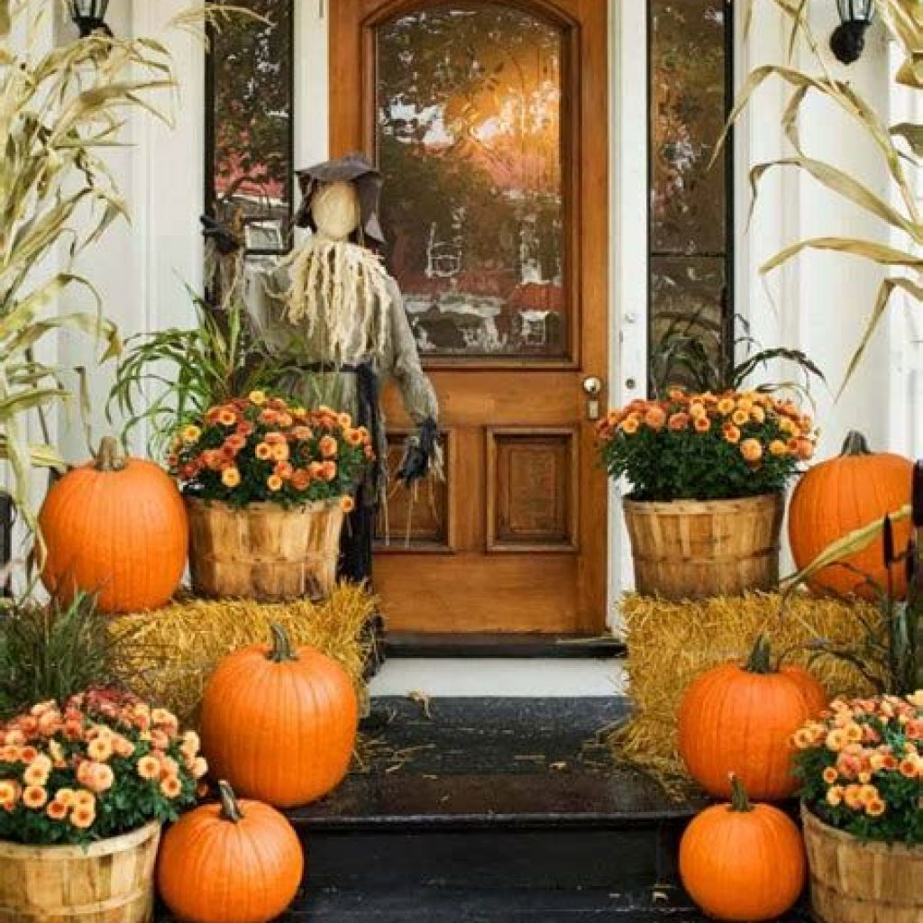Fantastic Backyard Decoration For Fall This Year 40