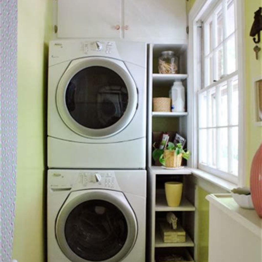 Fresh Minimalist Laundry Room For Small Space 11