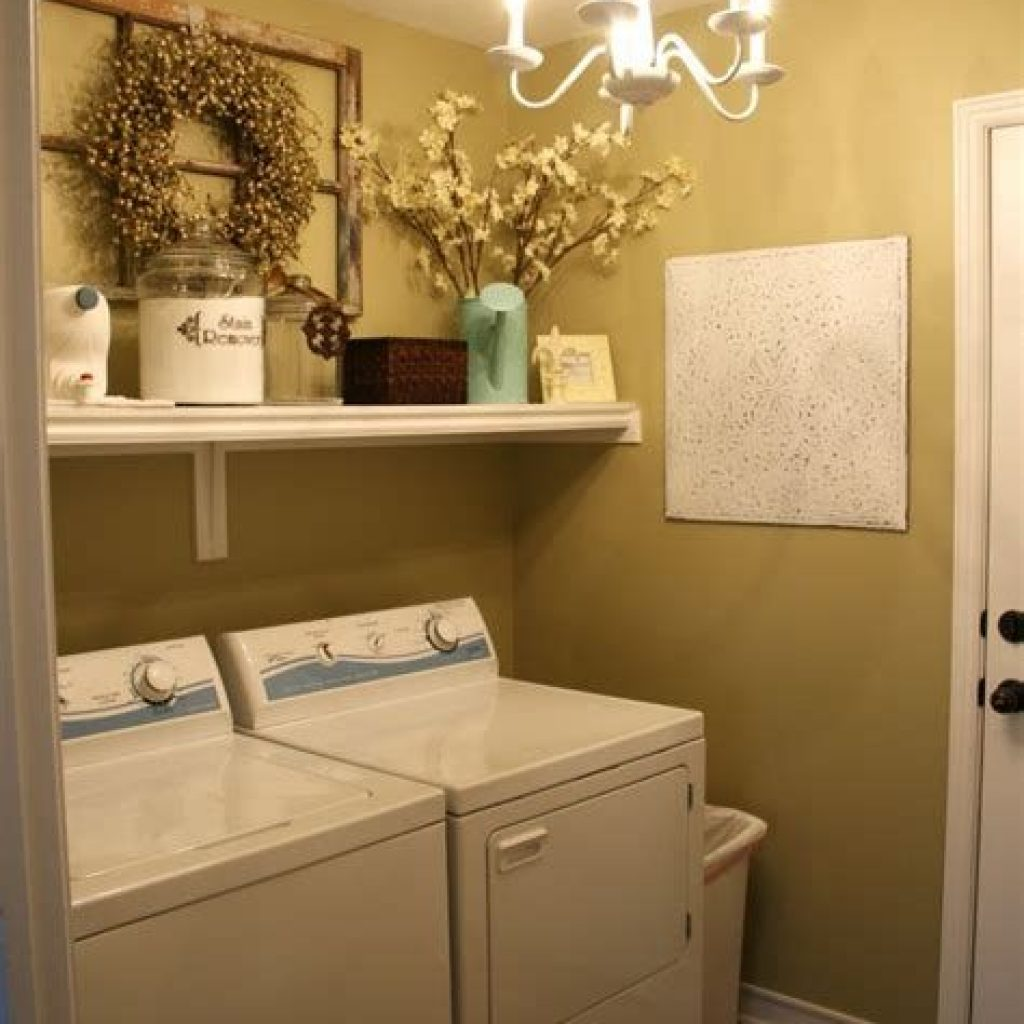 Fresh Minimalist Laundry Room For Small Space 12