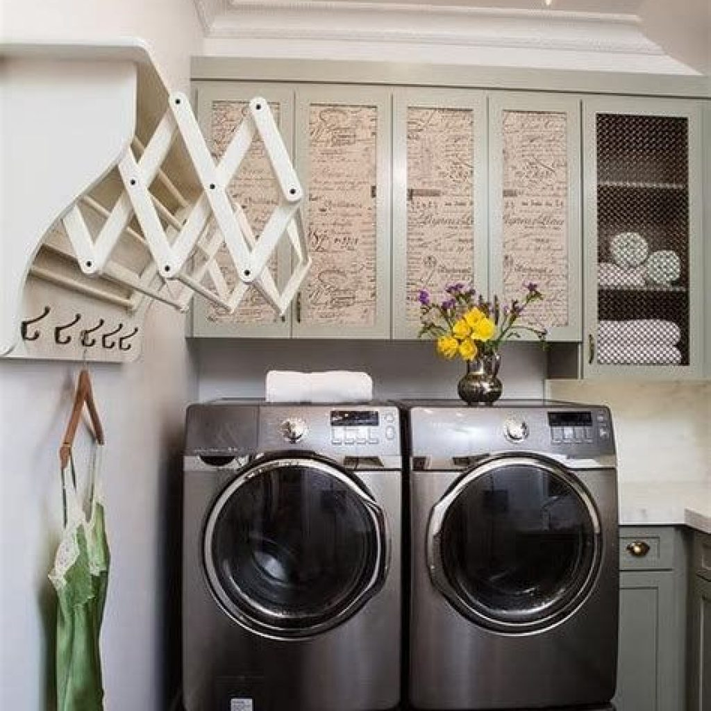 Fresh Minimalist Laundry Room For Small Space 13