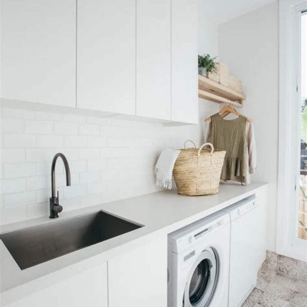 Fresh Minimalist Laundry Room For Small Space 24