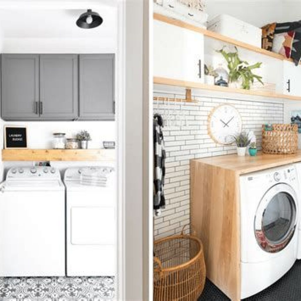 Fresh Minimalist Laundry Room For Small Space 28