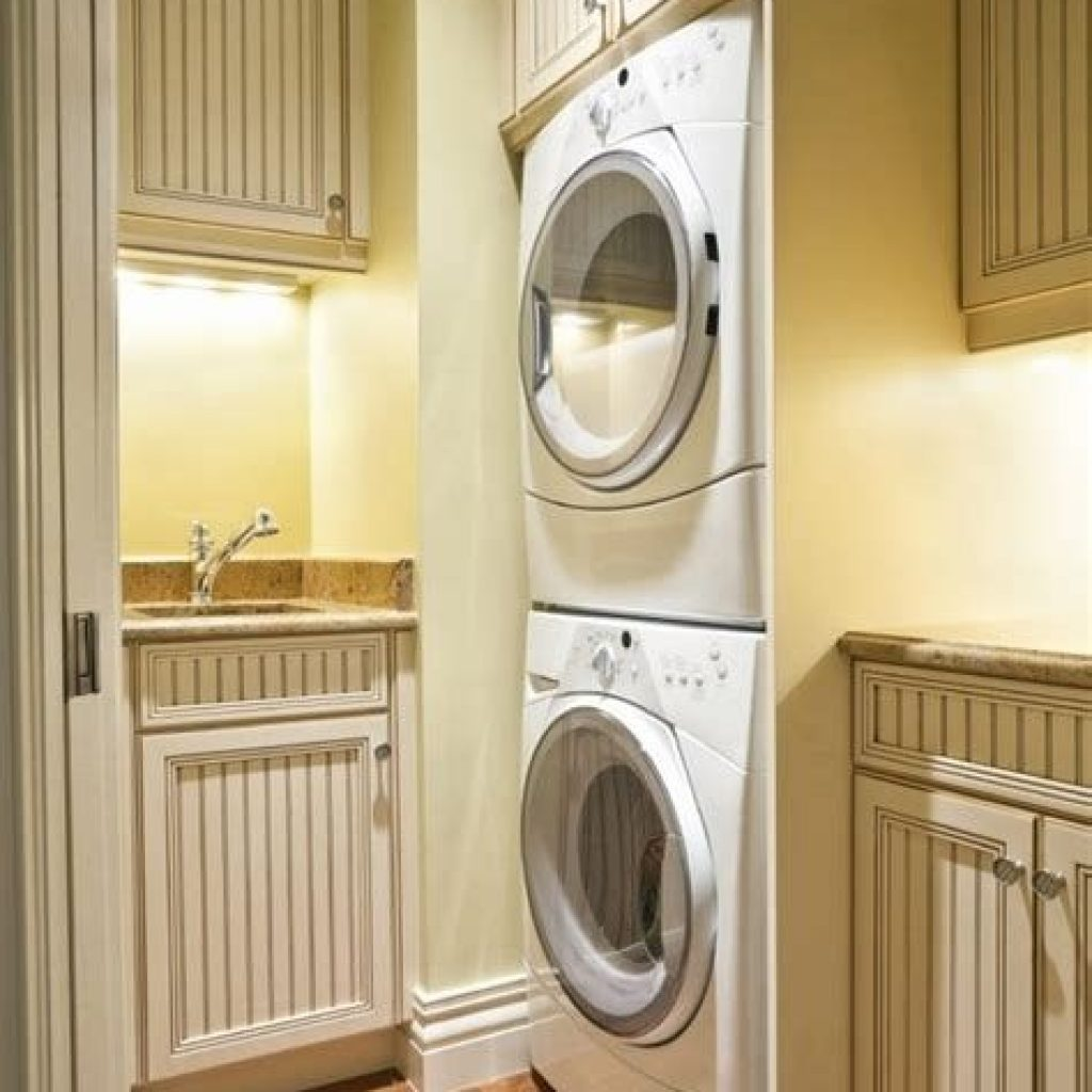 Fresh Minimalist Laundry Room For Small Space 31