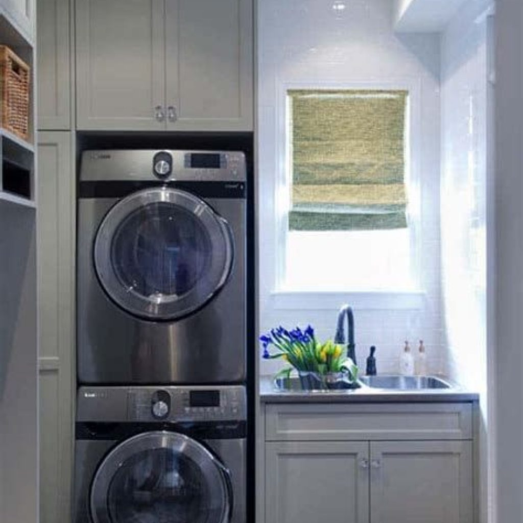 Fresh Minimalist Laundry Room For Small Space 34