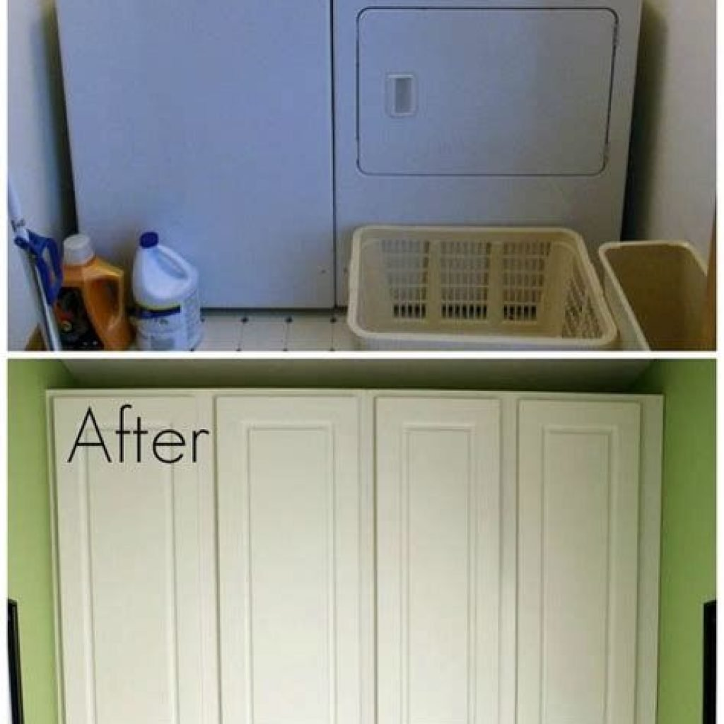 Fresh Minimalist Laundry Room For Small Space 36