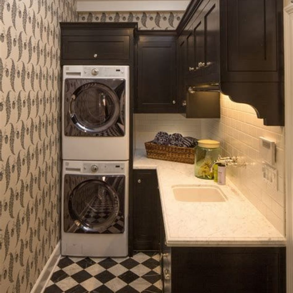 Fresh Minimalist Laundry Room For Small Space 37