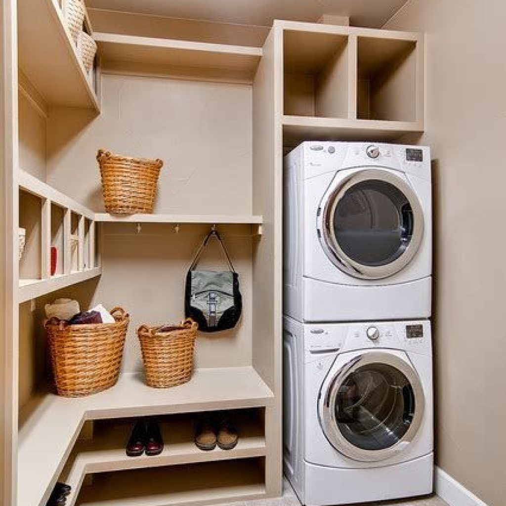 Fresh Minimalist Laundry Room For Small Space 38
