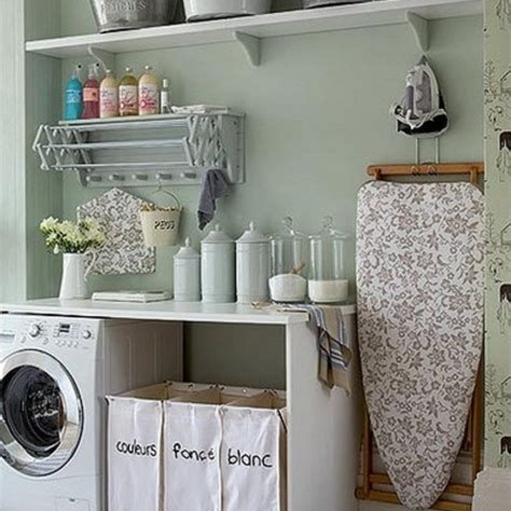 Fresh Minimalist Laundry Room For Small Space 39