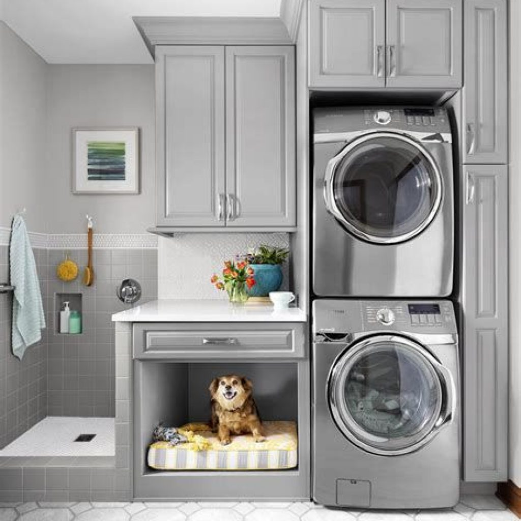 Fresh Minimalist Laundry Room For Small Space 41