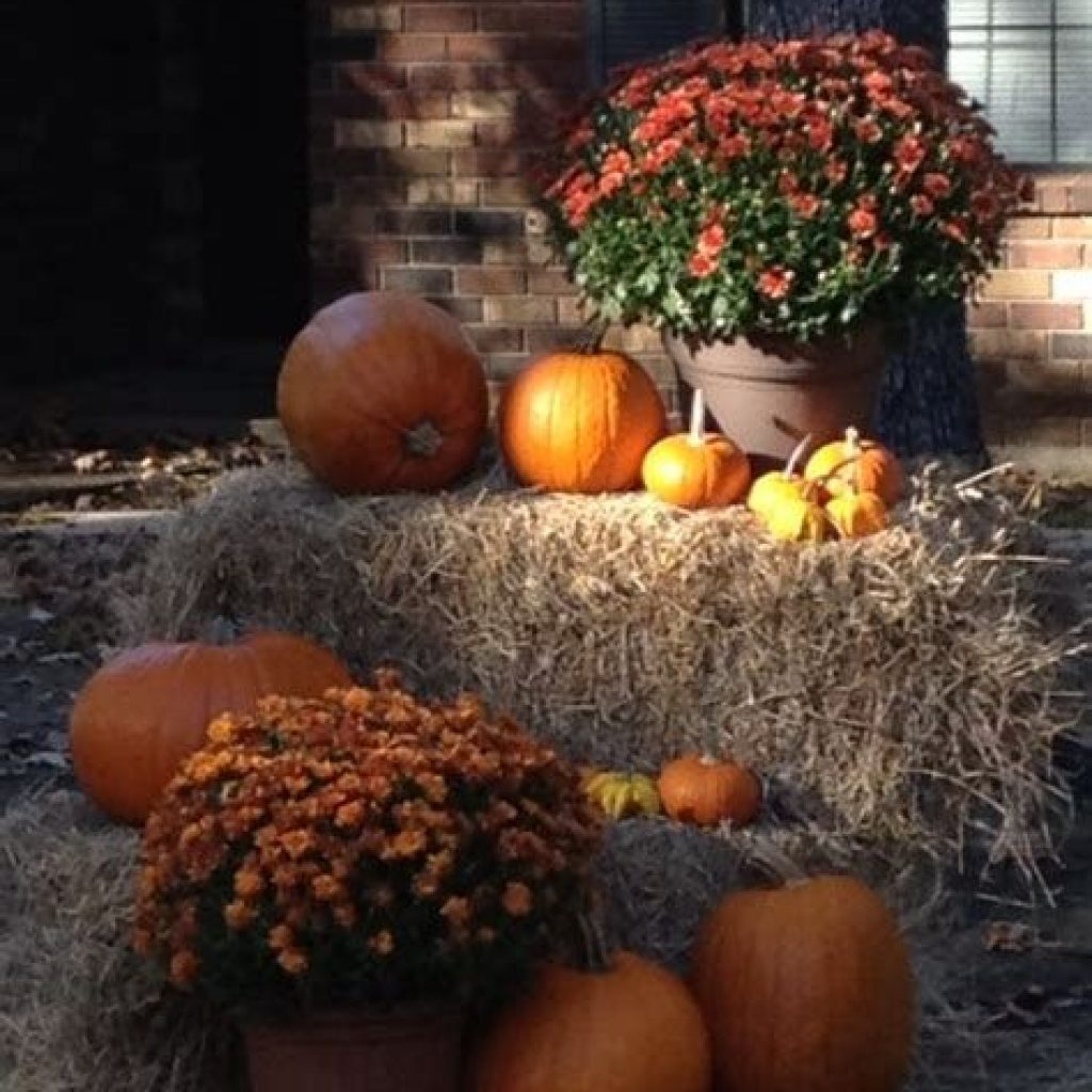 Incredible Fall Decoration For Your Front Yard On Budget 01