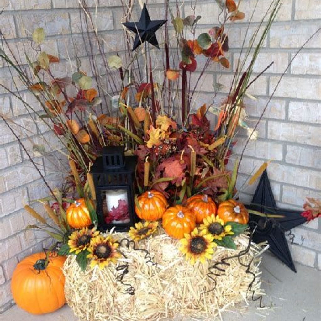 Incredible Fall Decoration For Your Front Yard On Budget 22