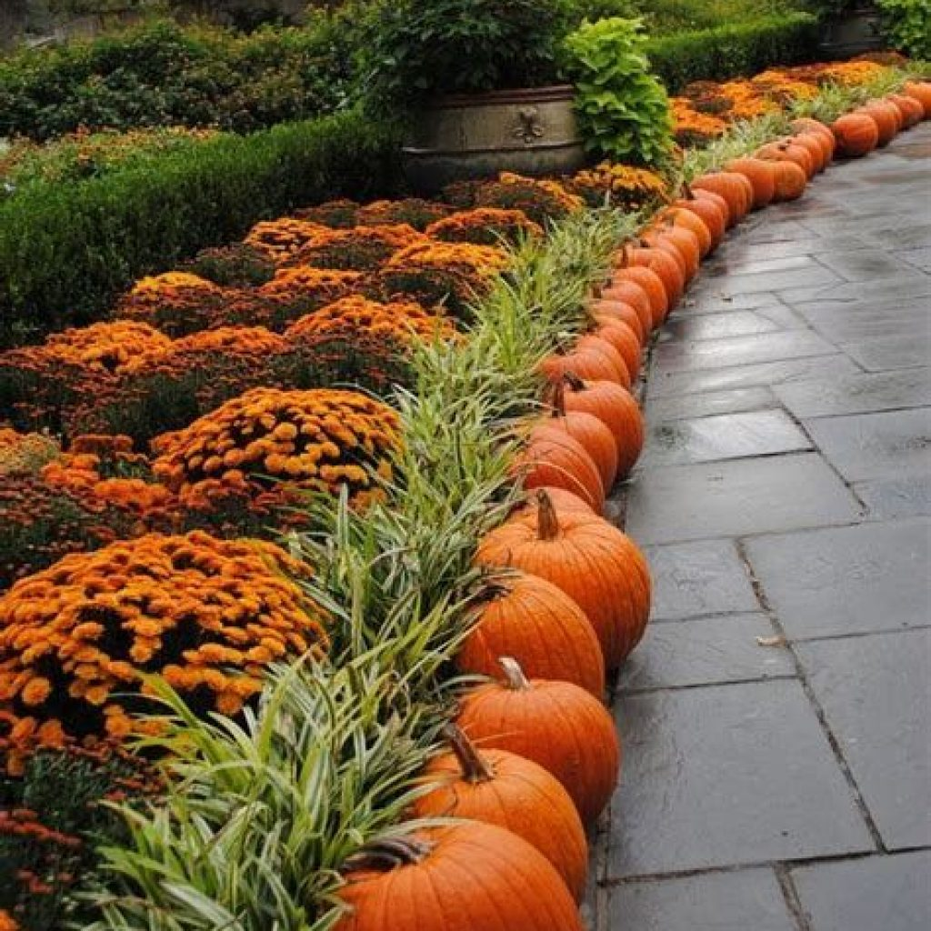 Incredible Fall Decoration For Your Front Yard On Budget 25