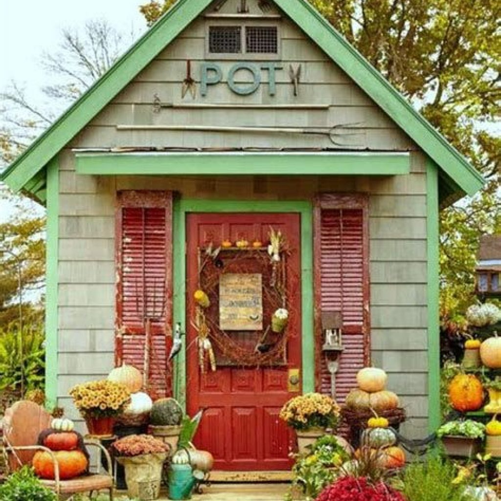 Incredible Fall Decoration For Your Front Yard On Budget 35