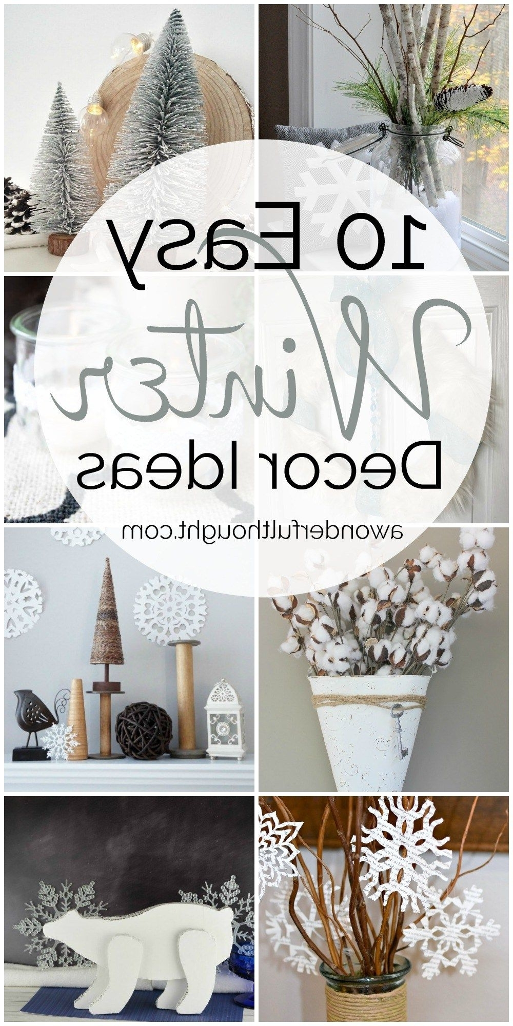 10 Easy Winter Decor Ideas Mm 186 A Wonderful Thought
