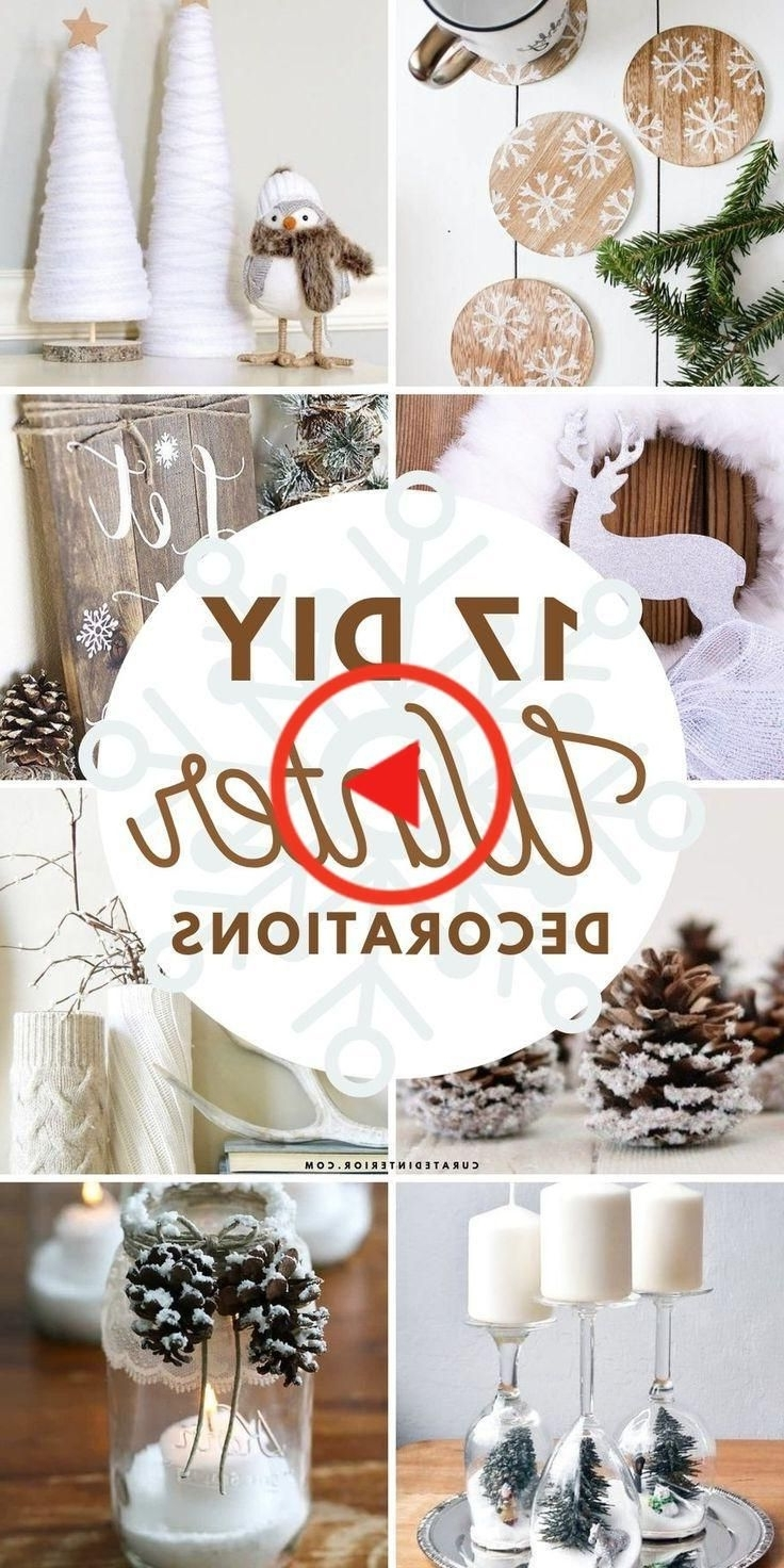 17 Diy Winter Decorations For After Christmas Decorating In