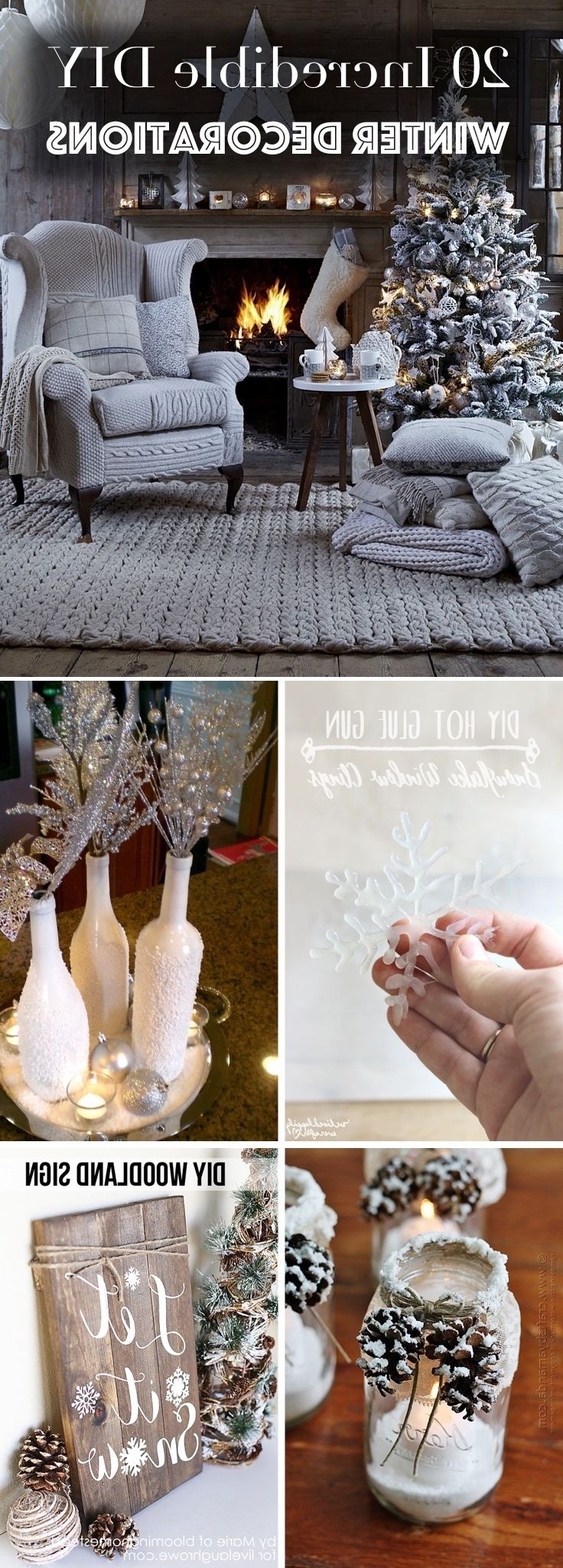 20 Incredible Diy Winter Decorations Transforming Your Home