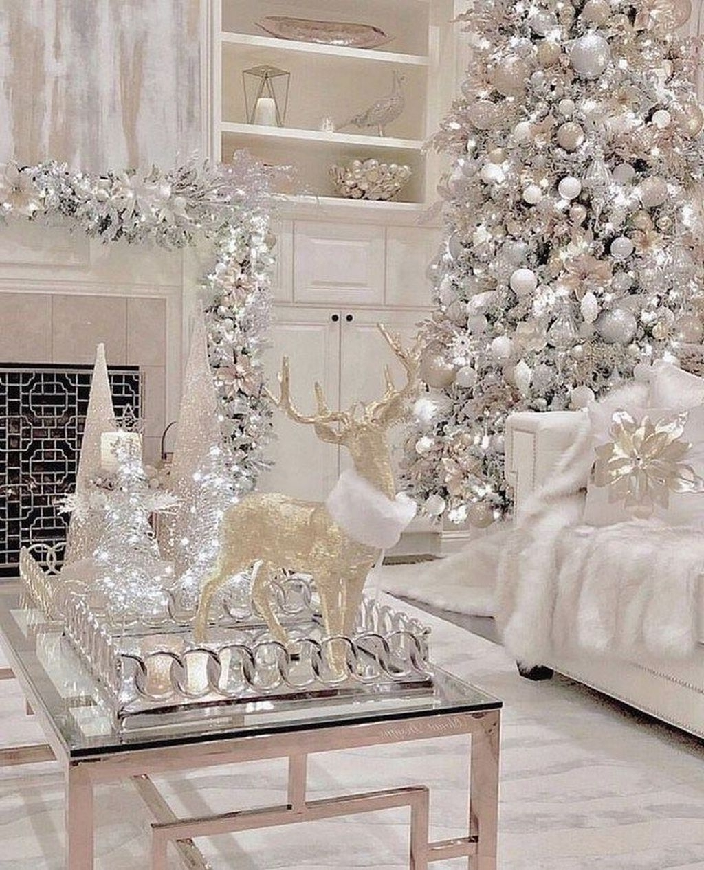 32 Amazing Winter Wonderland Home Decorations Ideas