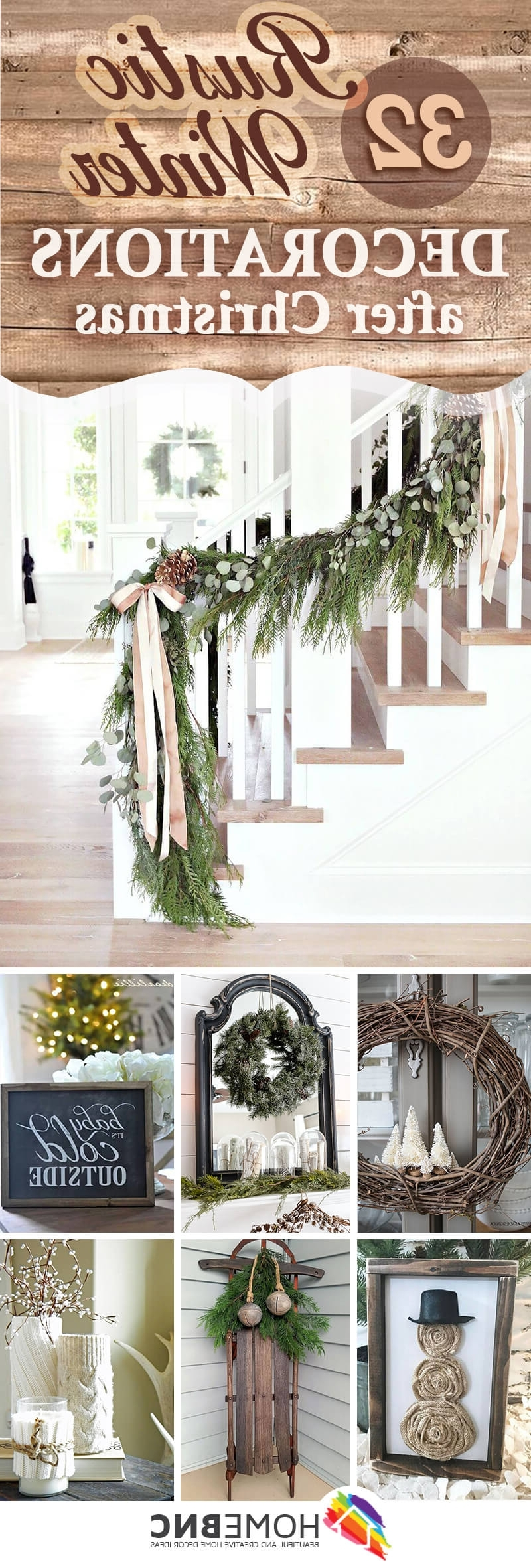 32 Best Rustic Winter Decor Ideas And Designs For 2020
