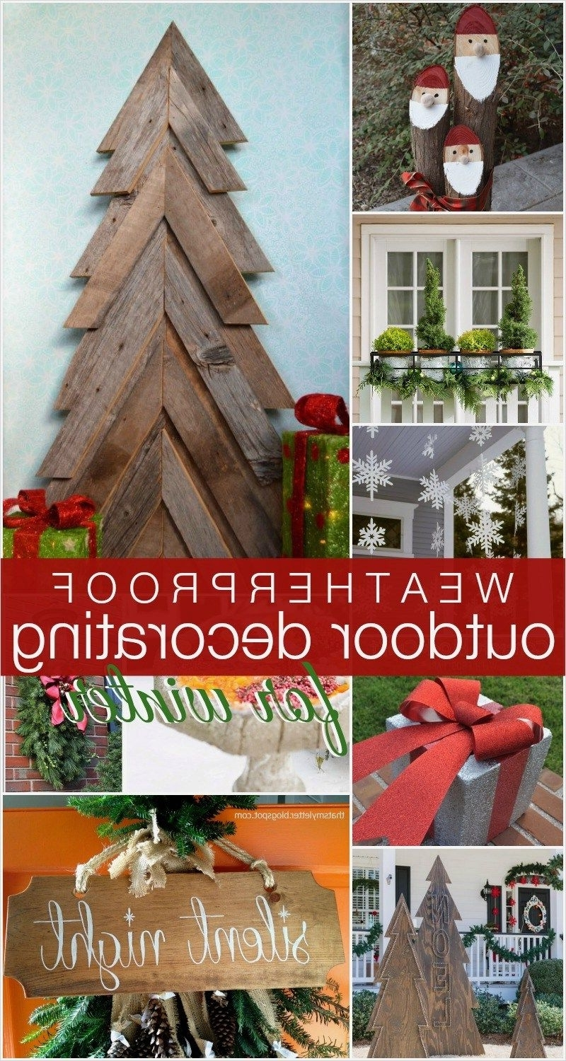 41 Amazing Ideas Outdoor Winter Decorations Homeandcraft