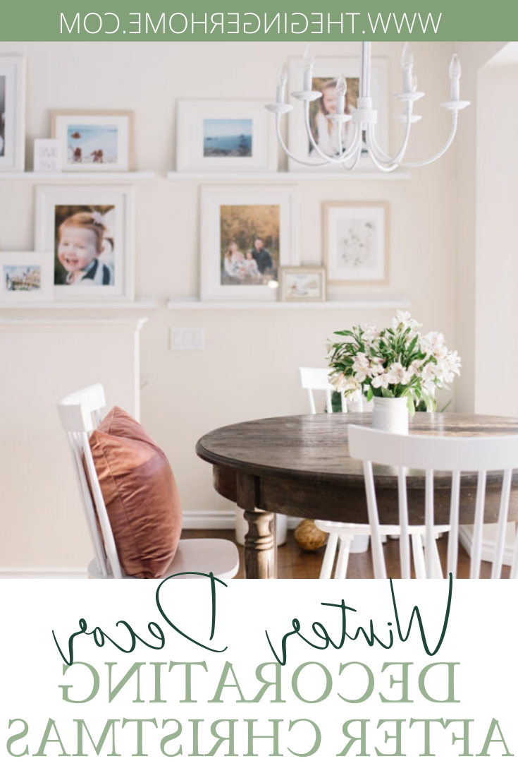 6 Easy Winter Decorating Ideas The Ginger Home Winter