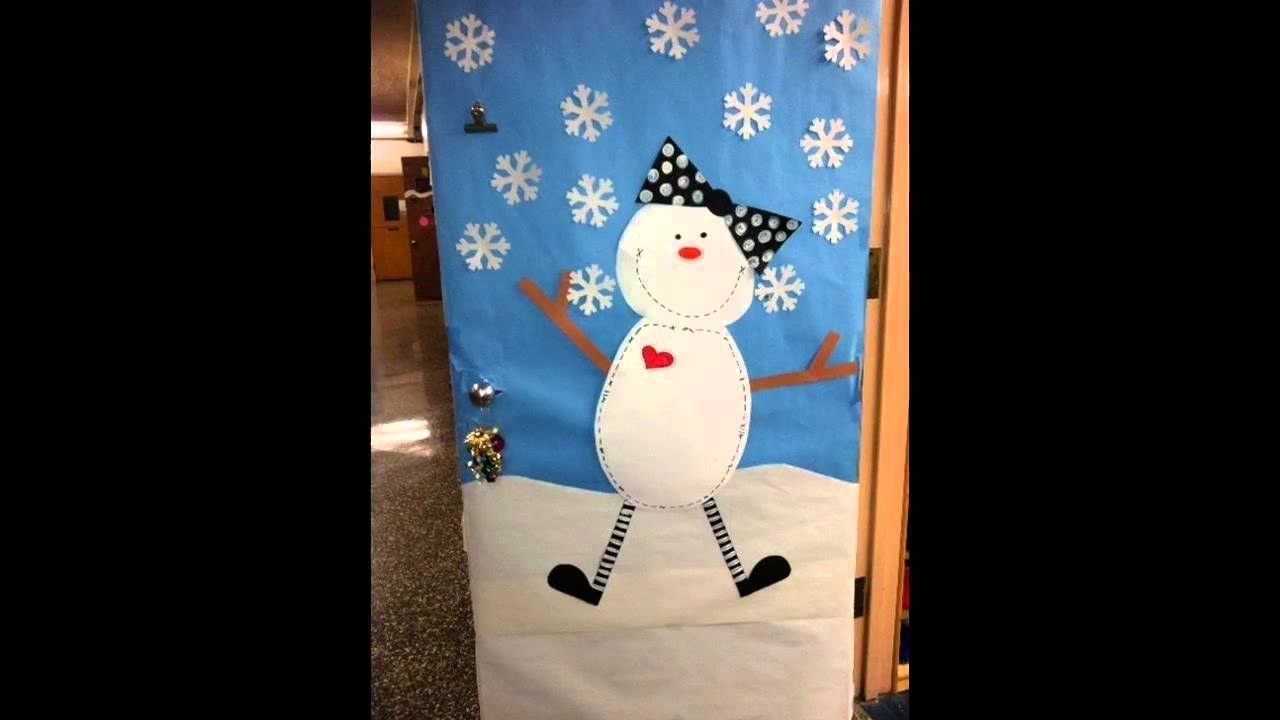 Awesome Winter Door Decorating Ideas