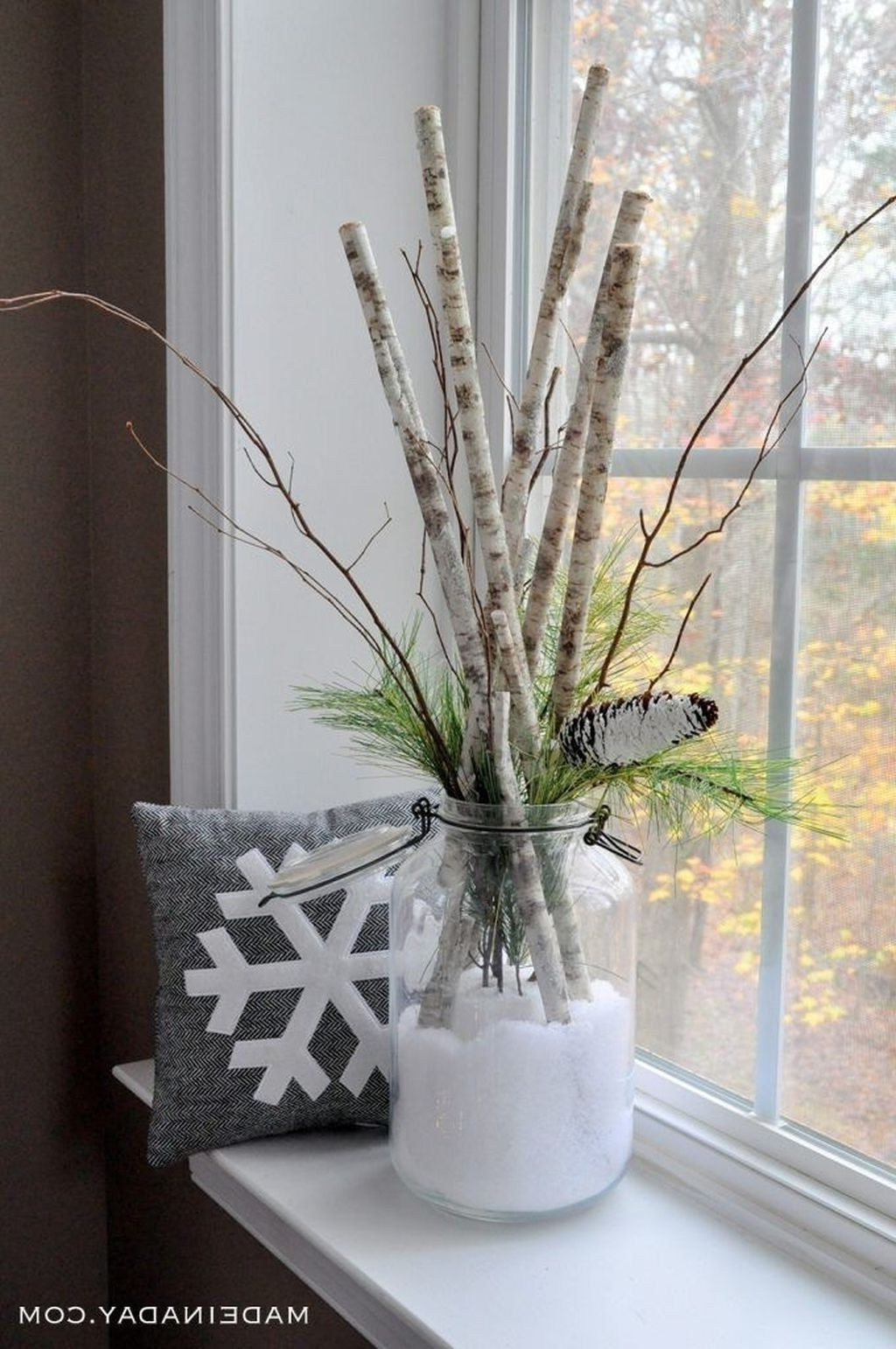 Cheap Diy Winter Ideas After Christmas01 Rustic Valentine