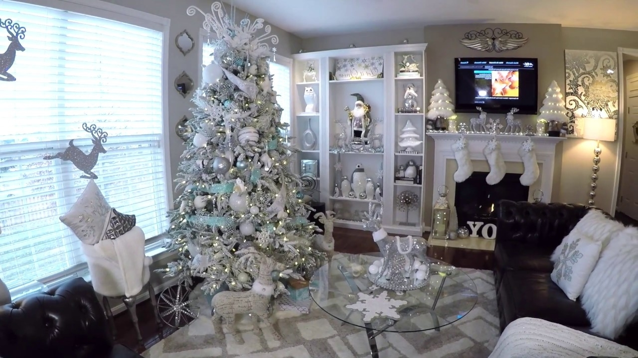 Christmas Home Tour 2017 Winter Wonderland Decor Must See
