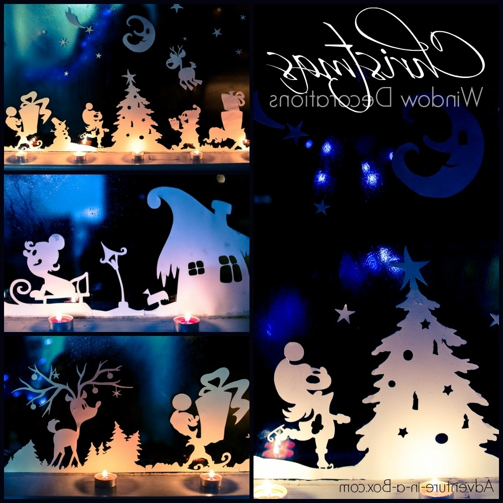 Christmas Window Silhouettes Adventure In A Box